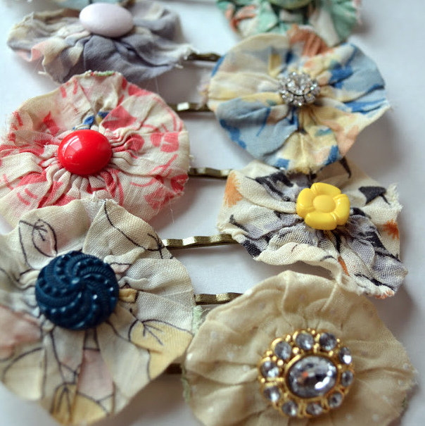 anthropologie inspired hair pins