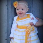 DIY baby dress