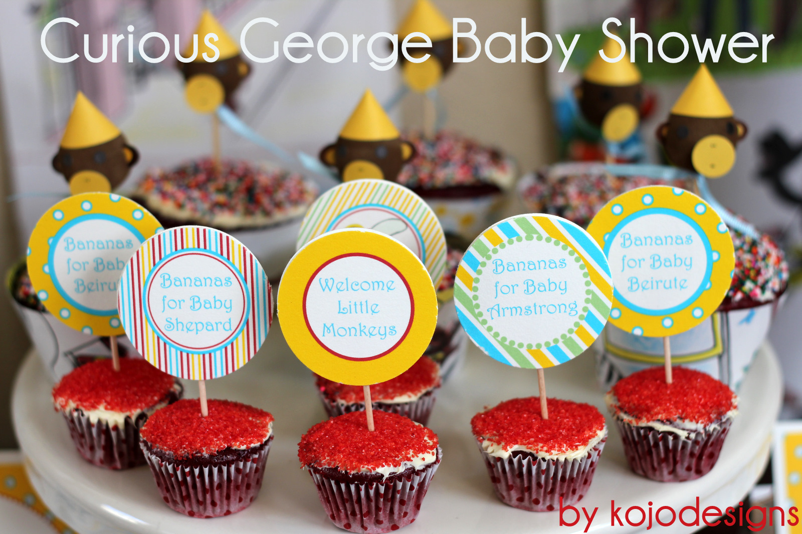 Curious George Baby Shower Theme
