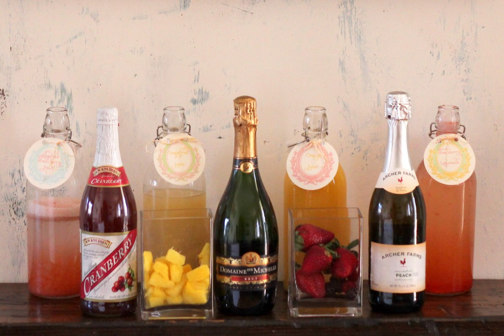 Sips Etc Mmm Mimosa Mondays Mimosa Bar How To And