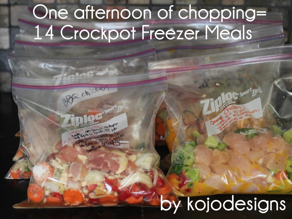 freezer crockpot meals