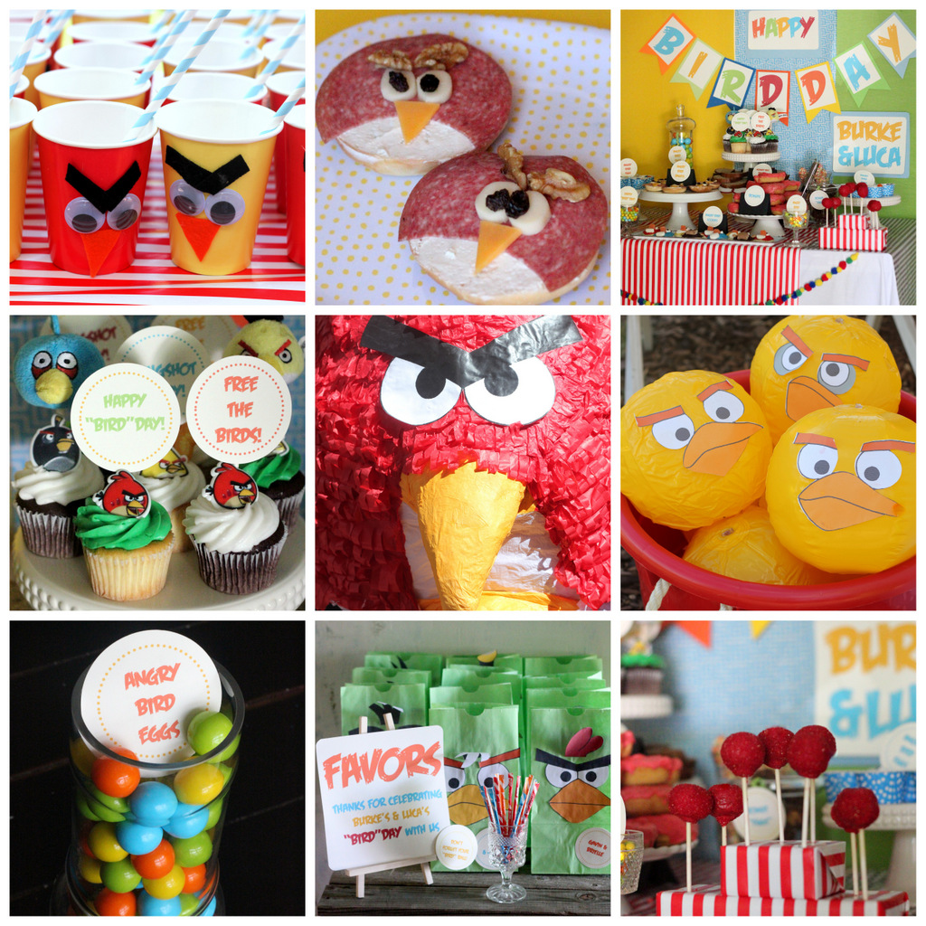 an angry birds birthday party for burke
