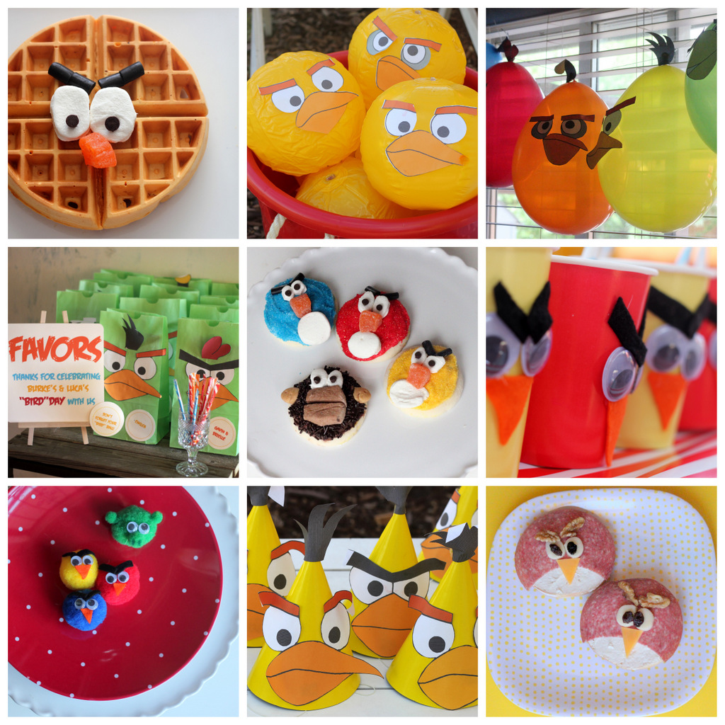 Angry bird party game the image kid has it for Angry birds decoration ideas