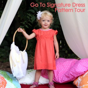 go to signature dress pattern- blog tour