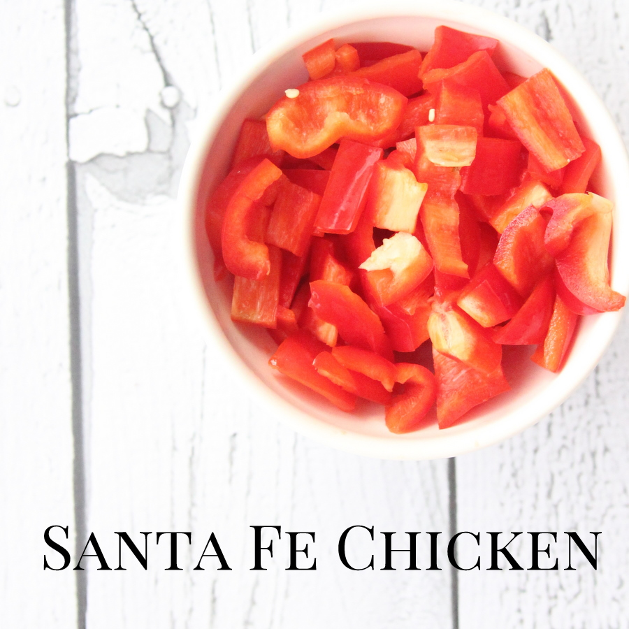 freezer crockpot dinner recipe- santa fe chicken