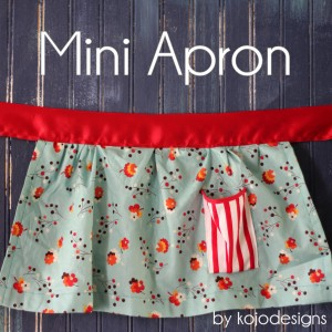 piper jane's mini apron
