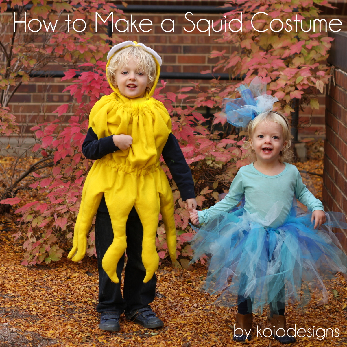 squid costume DIY