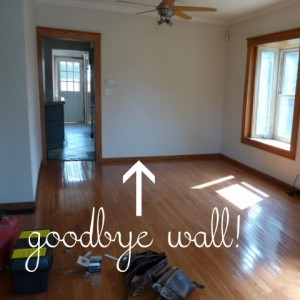 the new house, stage 1 (and a $100 Amex card giveaway from Bagster!)