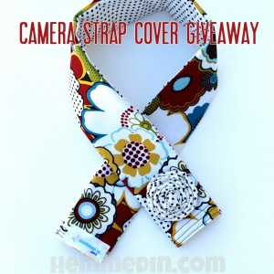 camera strap cover giveaway at kojodesigns