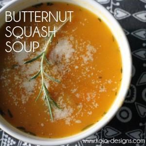butternut squash soup recipe by kojodesigns