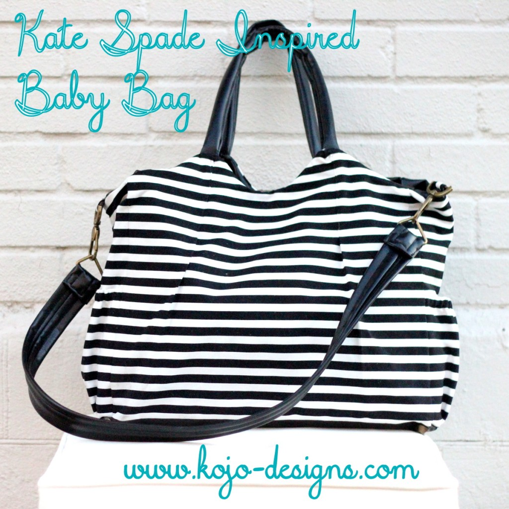 kate spade inspired baby bag
