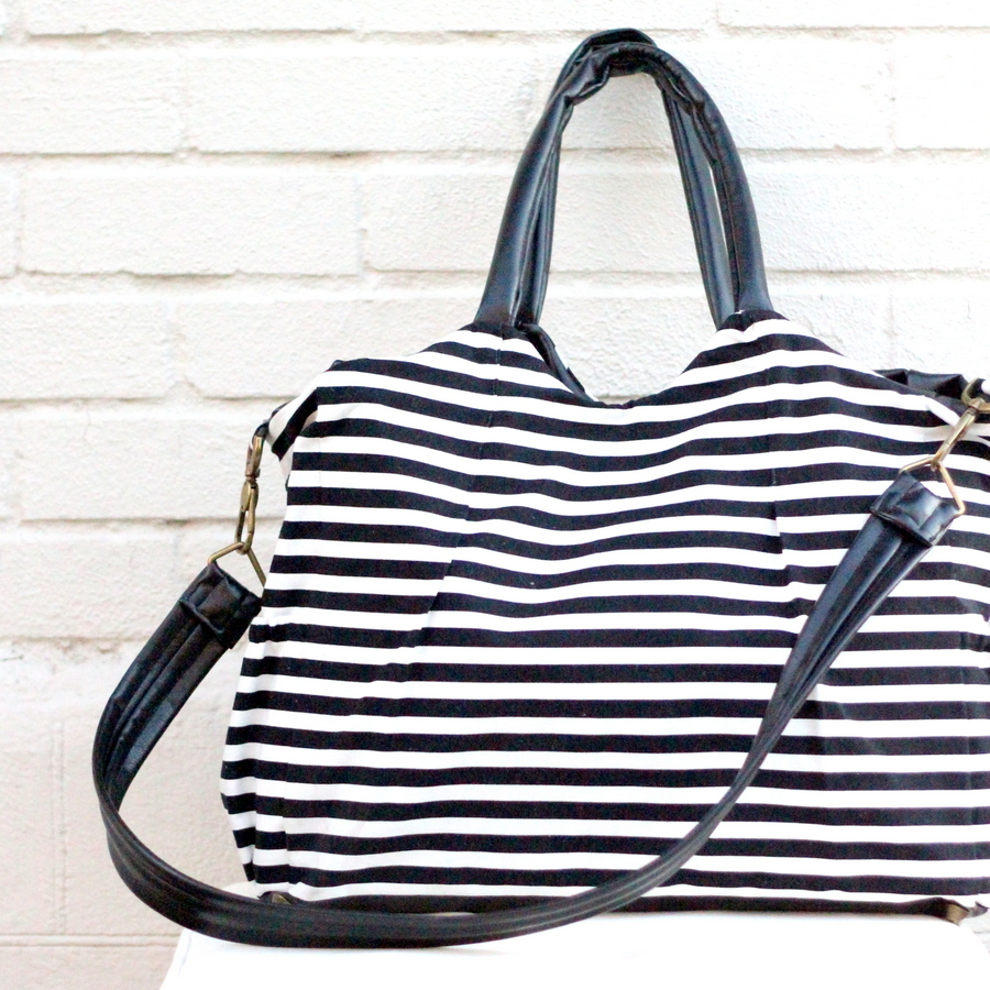 kate spade diaper bag mini-tutorial