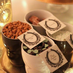 hot cocoa bar mix ins