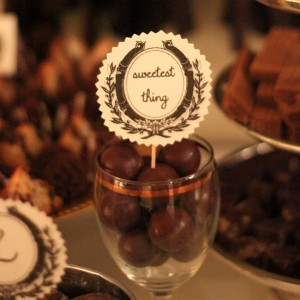sweetest thing chocolate baby shower