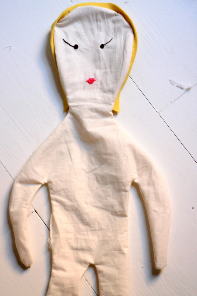 tutorial for making a baby doll