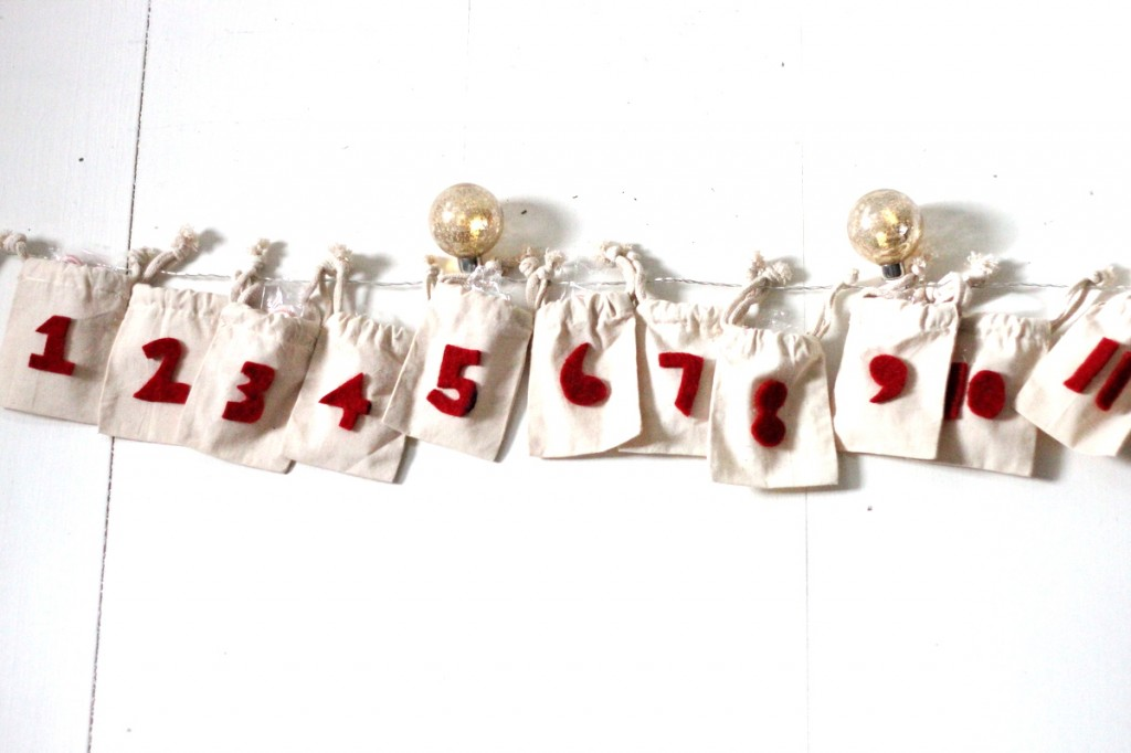 simple DIY advent calendar
