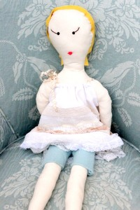 handmade doll tutorial