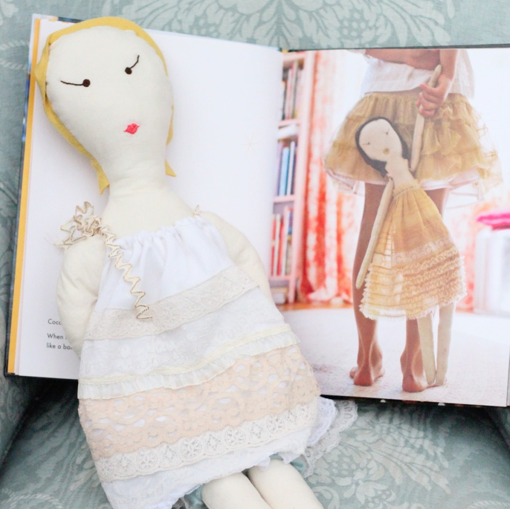 handmade baby doll by kojodesigns