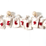 muslin and felt advent calendar