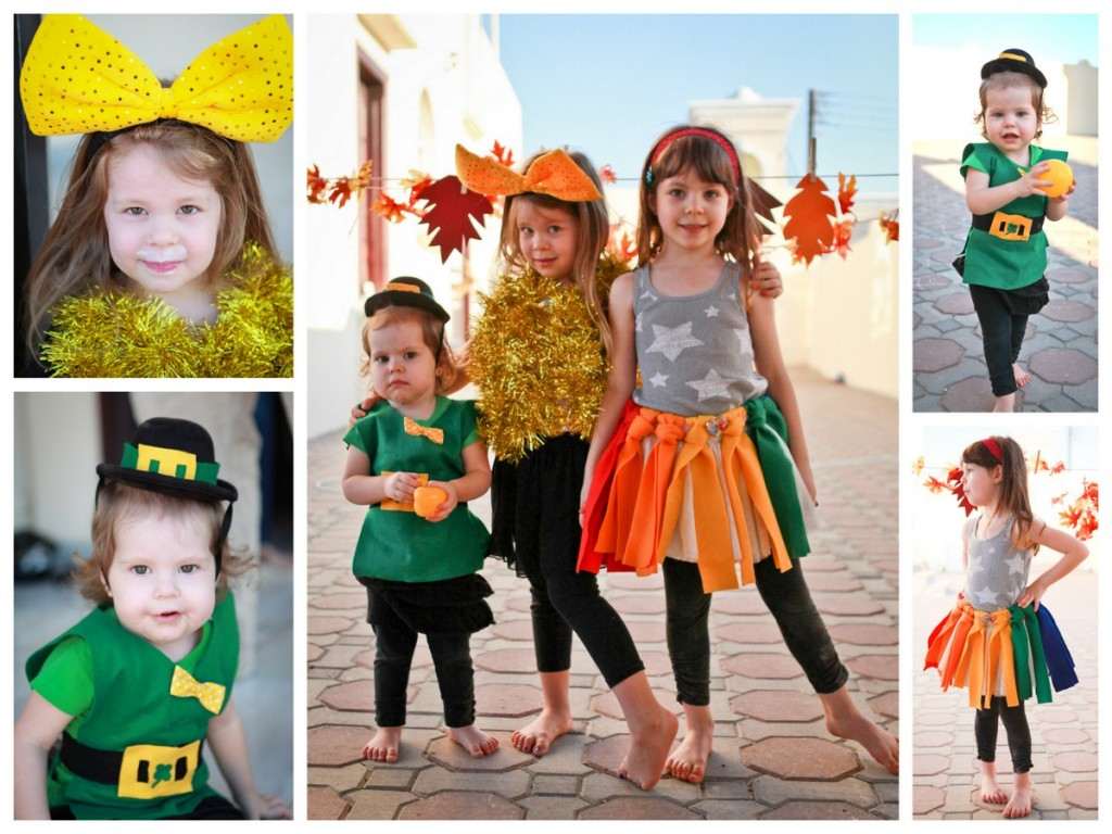 Since Halloween/Fall arenu0027t really celebrated here we put together a little u201cFall Festivalu201d with some other Americans and their kiddos.  sc 1 st  Kojo Designs & a leprechaun a rainbow and a pot of gold.