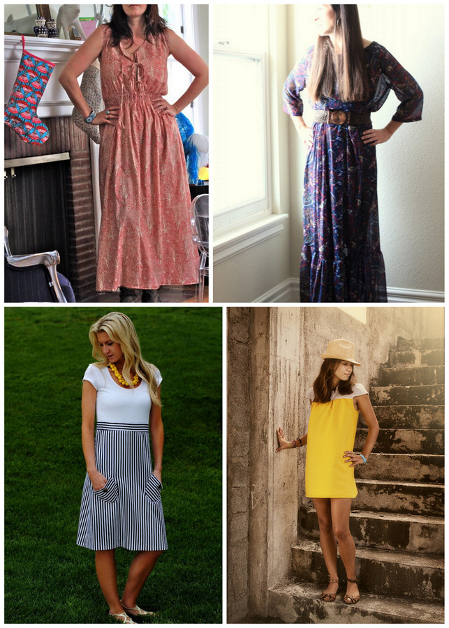 Fall Dress Patterns For Women Modern Prairie Dress by