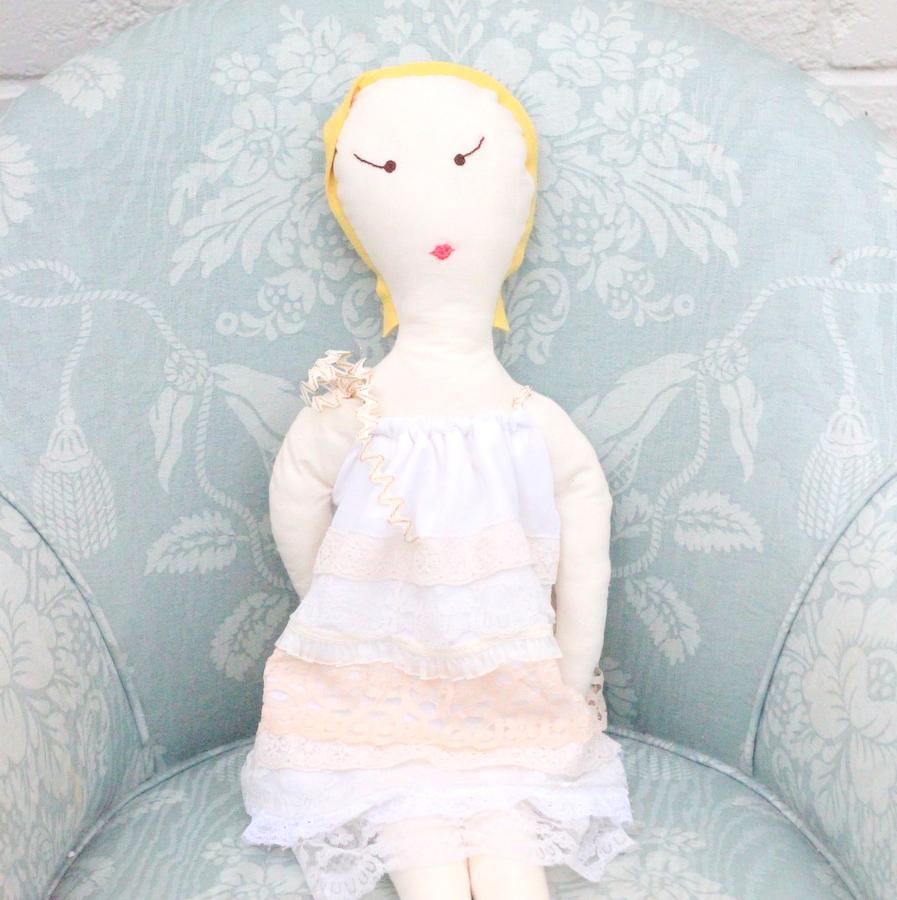 DIY handmade babydoll