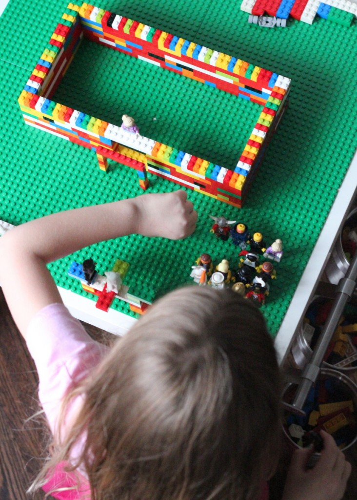 DIY ultimate lego table
