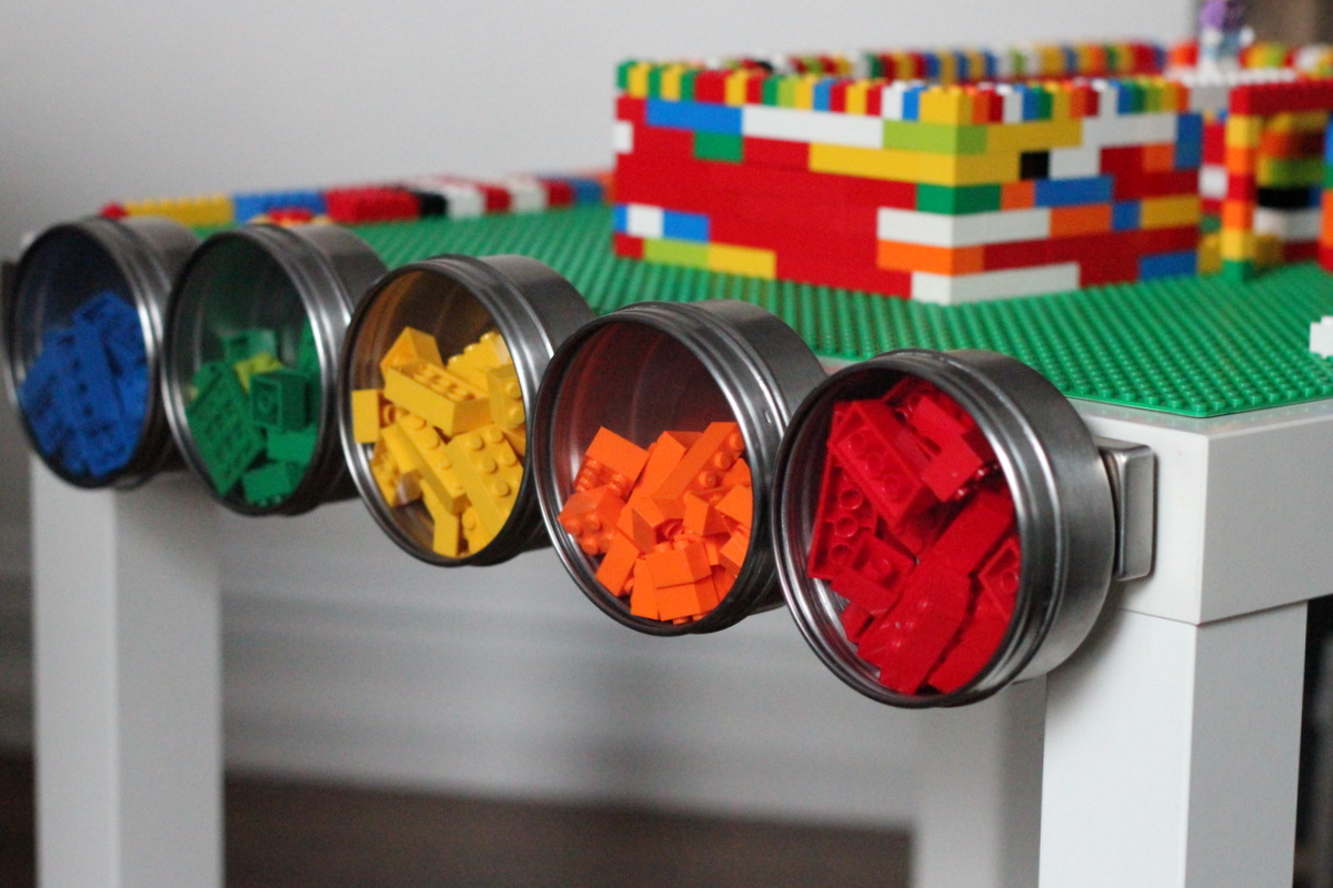 DIY lego table tutorial by kojodesigns