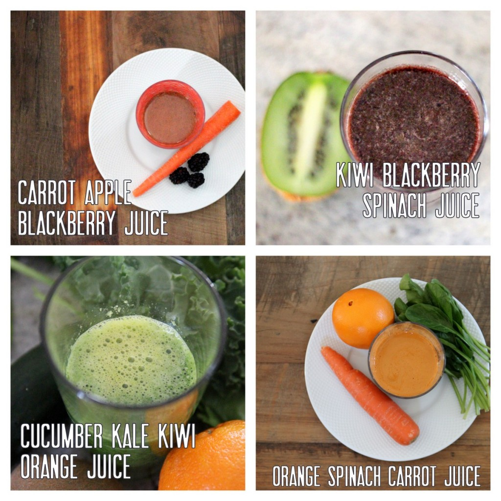our favorite juice combinations at kojodesigns