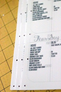 how to make your own blog planner