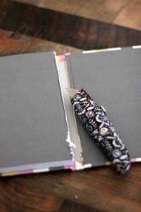 how to make a day planner using an existing journal