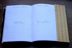 customized 2013 planner