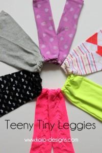 lots of little leggies