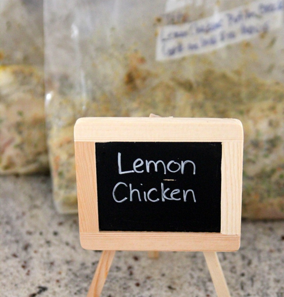 freezer crockpot cooking recipes- lemon chicken