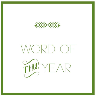 2013 word of the year