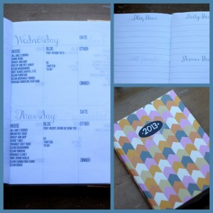 how to make a customized blog planner
