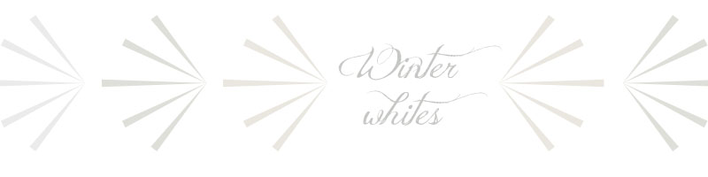 winter whites series