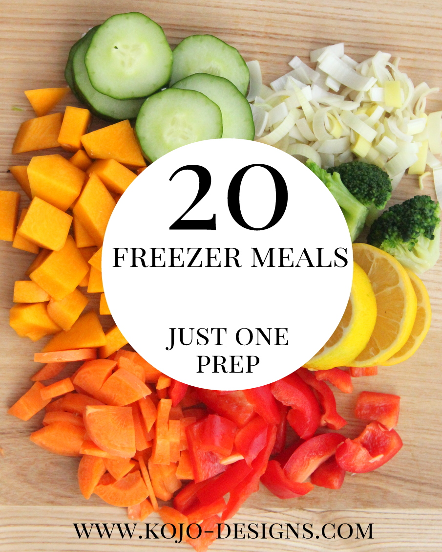 more freezer crockpot dinner recipes- one afternoon of prep yields twenty dinners!