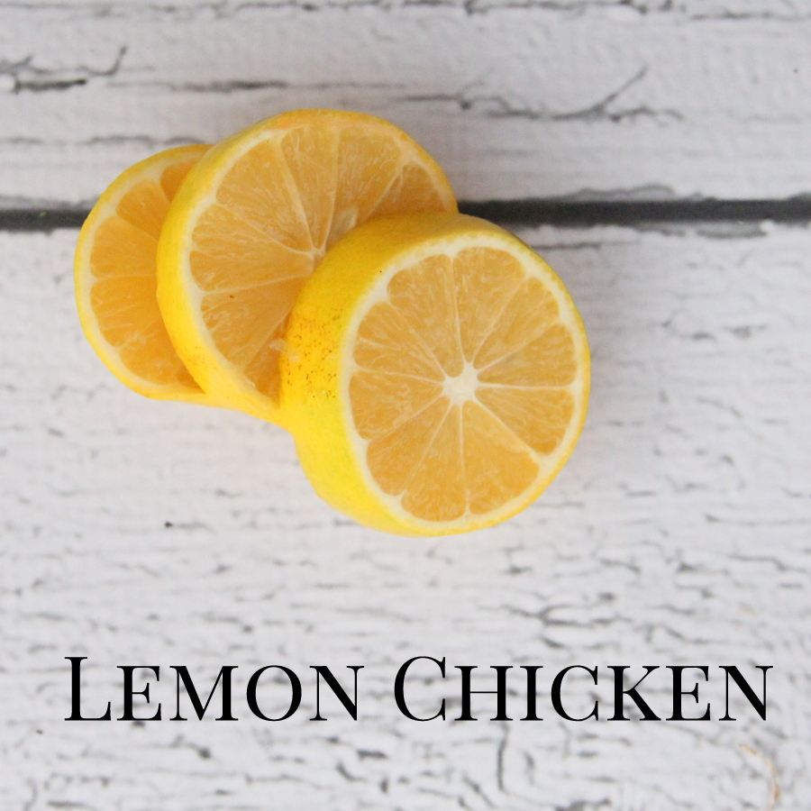 freezer crockpot recipe- lemon chicken