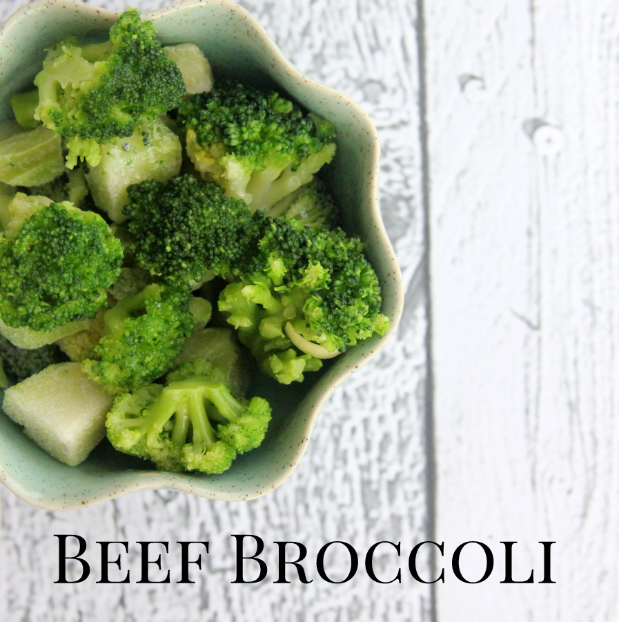 freezer crockpot recipe- beef broccoli