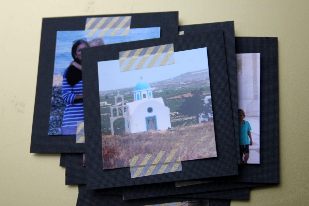 make your own picture display with a repurposed window