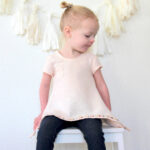 linen and sparkles tunic