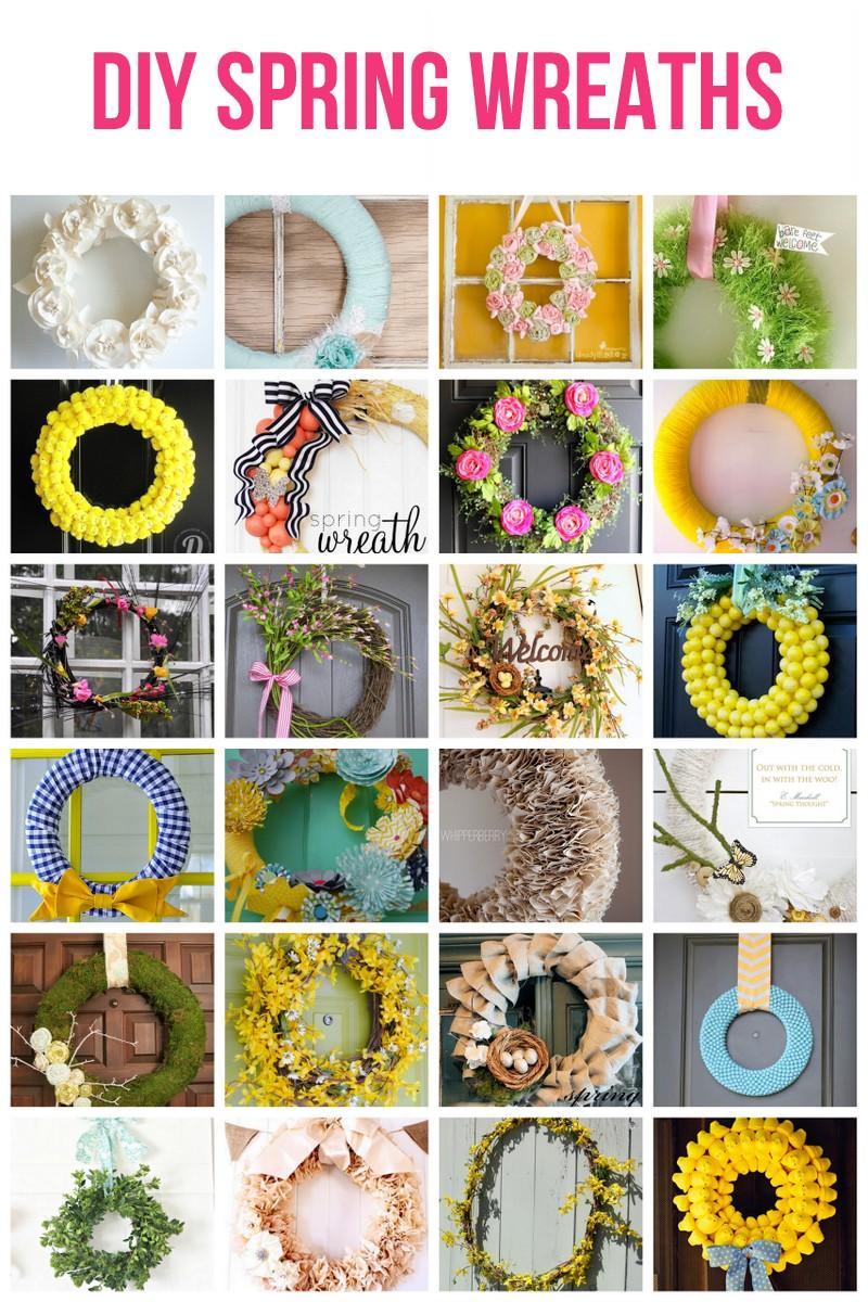 diy spring wreath ideas - Spring Wreath Ideas