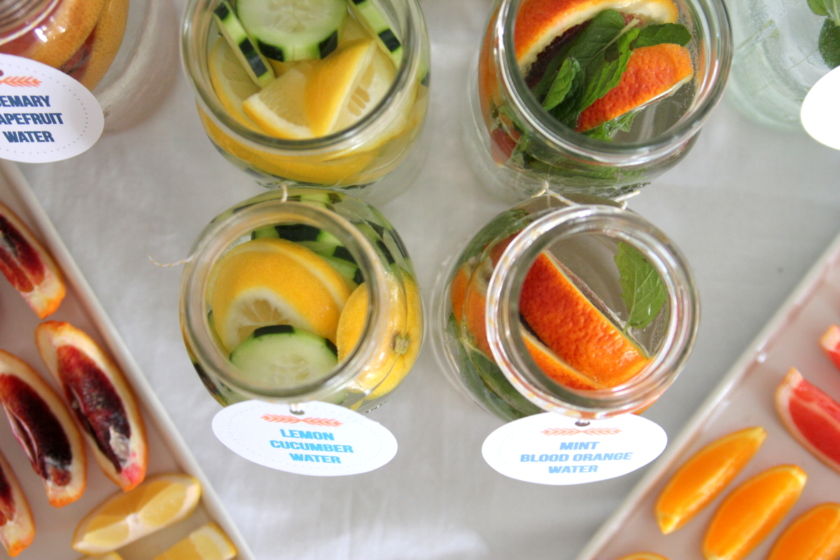 new detox water recipes