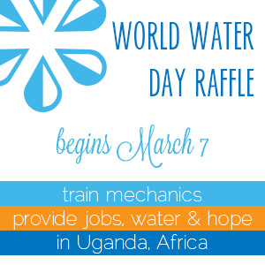 world water day raffle