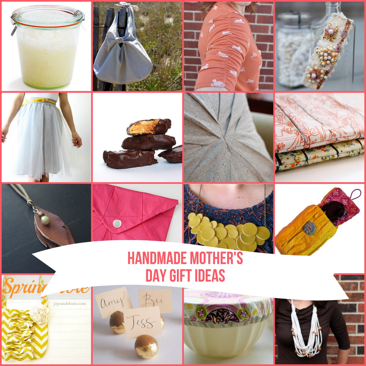 32 DIY mother's day gift ideas