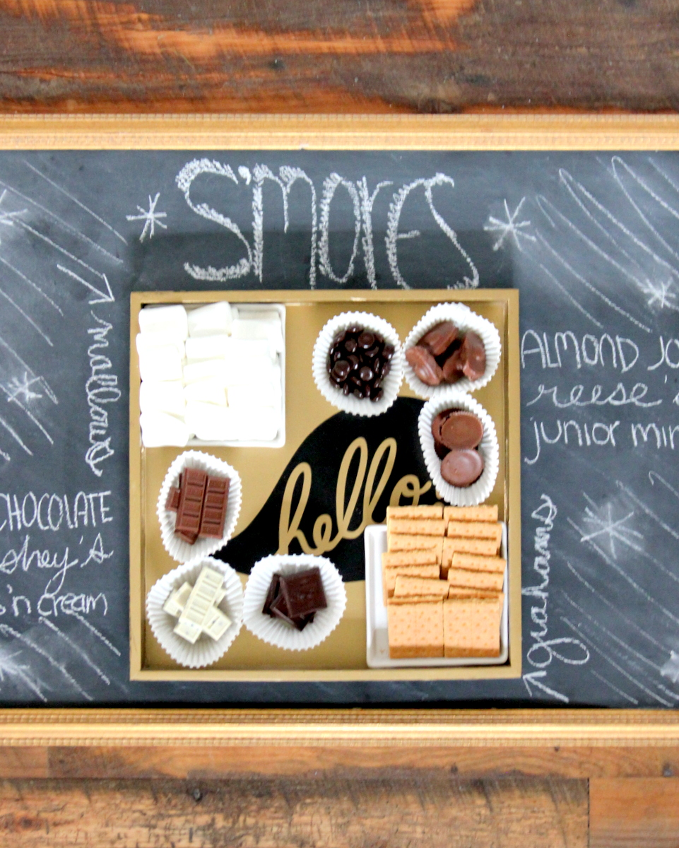 s'mores sample platter