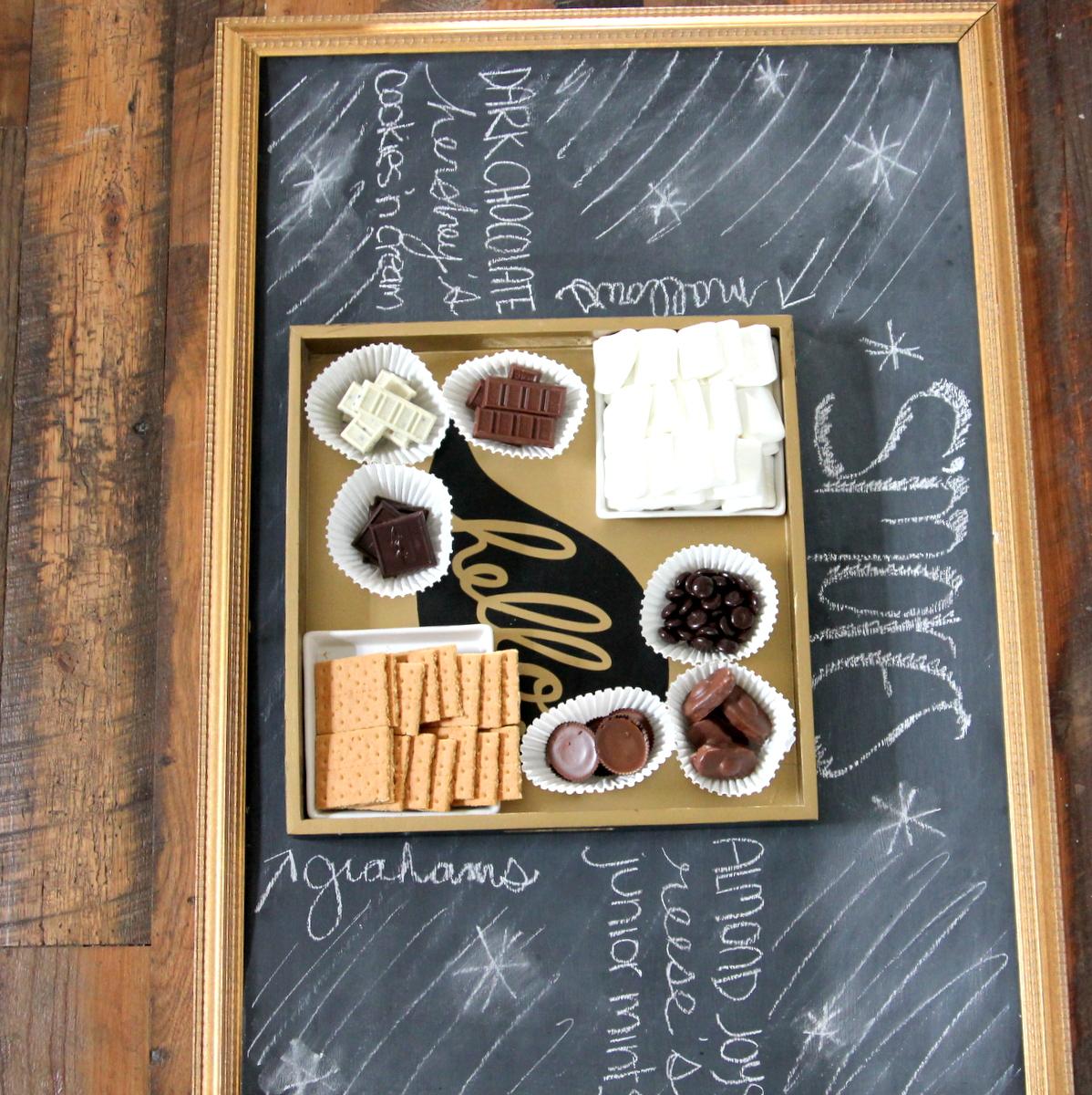 s'mores sampler platter