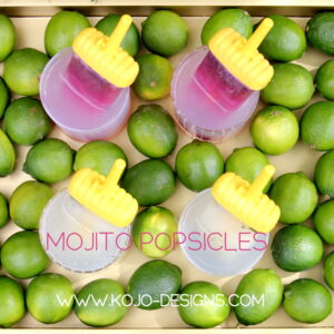 how to make a mojito popsicles