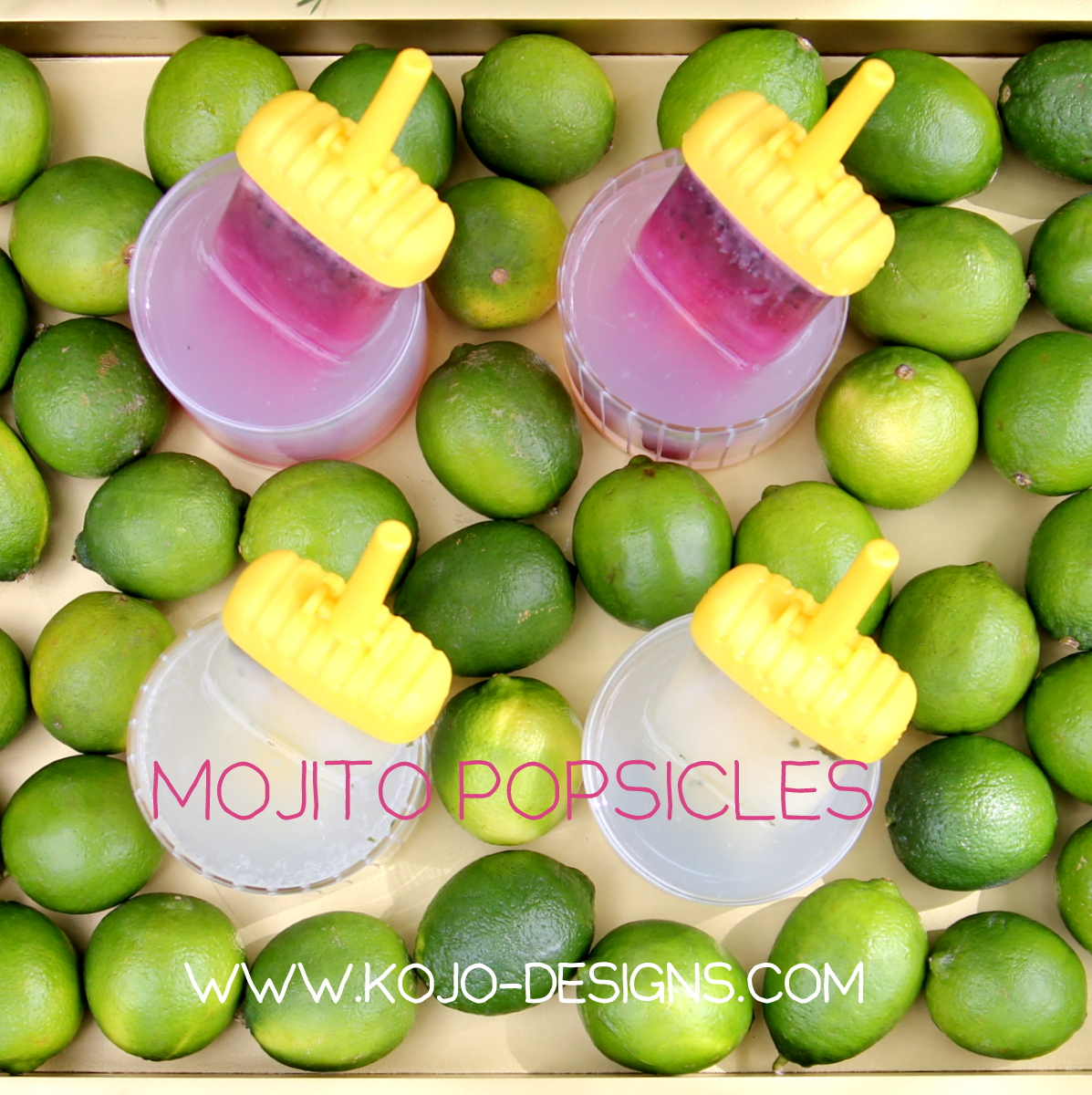 how to make mojito popsicles